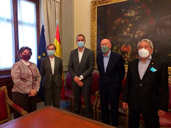 Arespa reunión en el Ministerio de Cultura